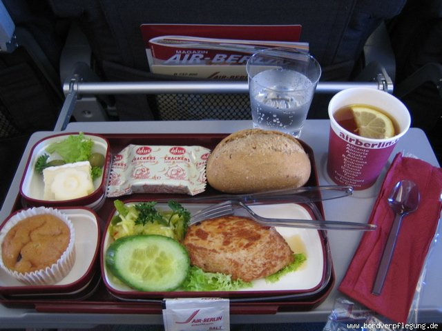 essen und verpflegung air berlin mittagessen flug nach palma mallorca. Black Bedroom Furniture Sets. Home Design Ideas