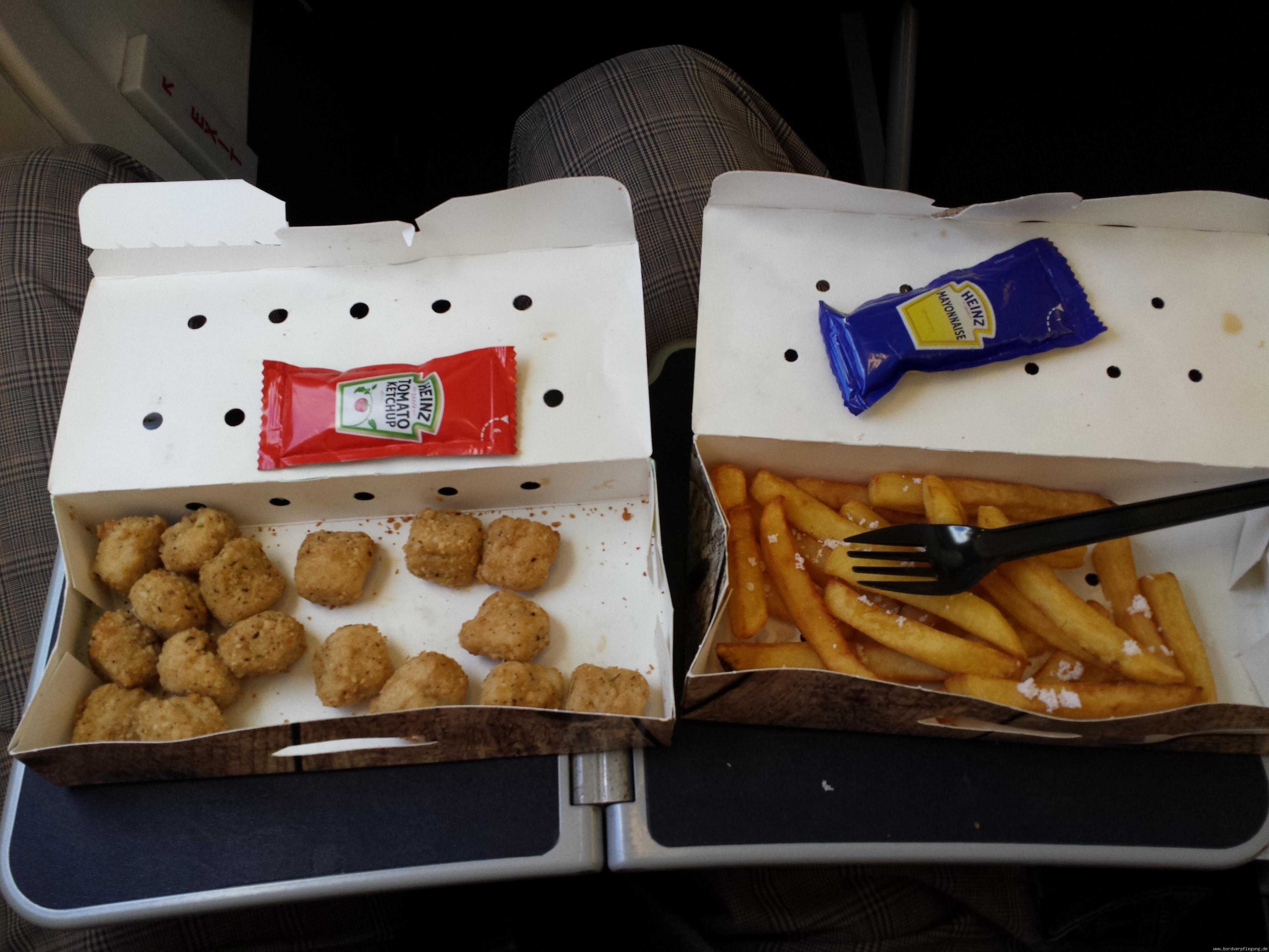Bordverpflegung Ryanair Essen Mittagessen